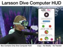 Authentic Dive Computer HUD for Serious Scuba Divers