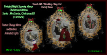 Fright night spooky mirror ( Christmas Edition )Fatpack