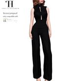 Thalia Heckroth - Bruna jumpsuit (MAITREYA) BLACK