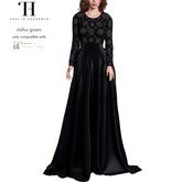 Thalia Heckroth - Nisha gown (MAITREYA) MIDNIGHT