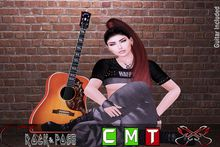 ::R&P::Pose- Guitar Girl Sexy