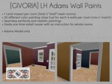 [GIVORIA] - LH Adams Paint Walls