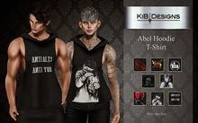 KiB Designs - Abel Hoodie T-Shirt FATPACK