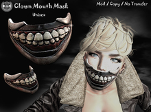 [Since1975] Clown Mouth Mask