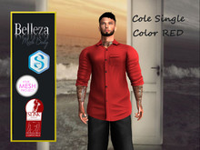 TA COLE SHIRT RED