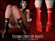 glutz . techno light-up boots