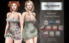 "KiB Designs - Queenie Cocktail Dress DEMO  ""Wear"""