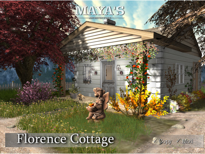 Maya's - Florence Autumn Cottage with Garden / Animals / Moving & Falling Leaves / Statue / Fountain / Campfire ...