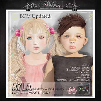 {Bebe} Youth Ayla Bento Head 2.0