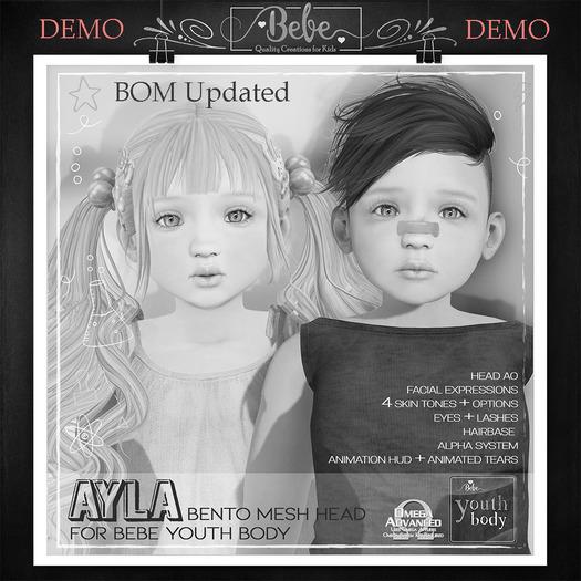 {Bebe} Youth Ayla Bento Head DEMO