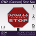 Cherokee Stop Sign (Set) - 100% Mesh, 15 Versions