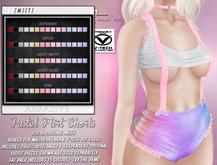 [ abrasive ] Pastel Flirt Shorts - Fat Pack