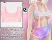 [ abrasive ] Pastel Flirt Mini Tank - Pink