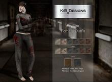 """KiB Designs - Asylum Outfit FEMALE """"Wear"""""""