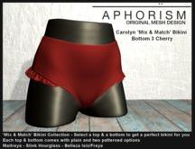 !APHORISM! - Carolyn Bikini Bottom 3 Cherry