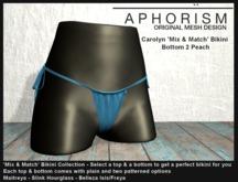 !APHORISM! - Carolyn Bikini Bottom 2 Sky