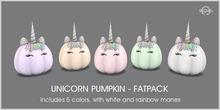 Sequel - Unicorn Pumpkin - Fatpack - Halloween Decoration
