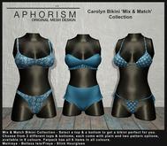 !APHORISM! - Carolyn 'Mix & Match' Bikini Collection DEMO