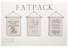 ZIMSA // Embroidered Tapestry {FATPACK}
