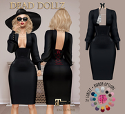 Dead Dollz - Goode Dress - Black