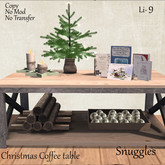 Christmas Coffee table By Snuggles