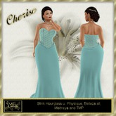 YF - CHERISE Corsett gown DEMO