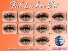 ~Dollypop~ Fab Lashes For Genus - 10 Styles