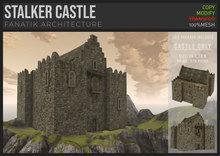 :Fanatik Architecture: STALKER CASTLE – mesh tower house / keep castle