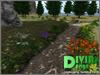 Romantic garden path 01