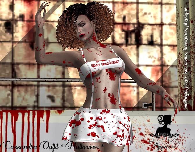 [EN] Cassandra Outfit * Halloween *