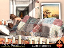 VALENTINE'S Cuddle Blanket - Snuggle under a blanket! Texture Change - Experience & Bento Enabled