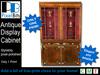 Antique Display Cabinet - 1 prim!