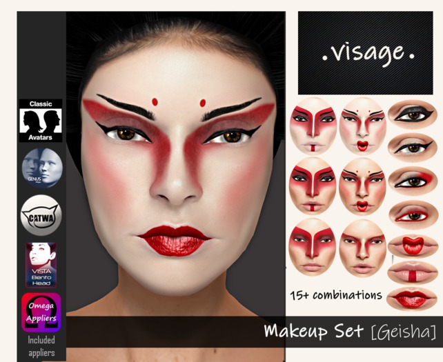 .visage. Makeup Set [Geisha]