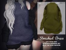 [ abrasive ] Slouched Dress - Olive