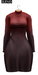 BUENO-Fly Dress-Red Ombre