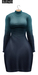 BUENO-Fly Dress-Teal Ombre