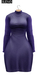 Bueno fly dress  purple