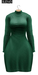 BUENO-Fly Dress-Emerald