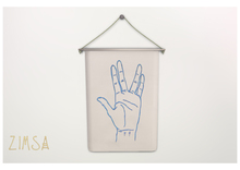 ZIMSA // Embroidered Tapestry -SPOCK-