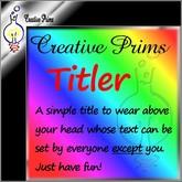 Creative Prims Titler
