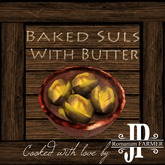 25x Baked suls with butter [G&S]
