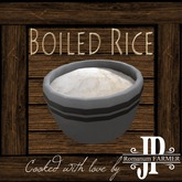 25x Boiled rice [G&S]