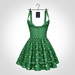 NX-Nardcotix Matilda Dress Emerald