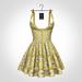 NX-Nardcotix Matilda Dress Gold