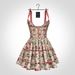 NX-Nardcotix Matilda Dress Roses