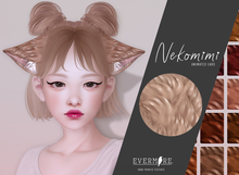 EVERMORE. [ nekomimi - animated.ears ] - RED - wear me