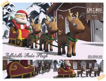 Inflatable Santa Sleigh ♥ CHEZ MOI
