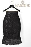 -Narcisse- ADD Celeste Skirt - Black