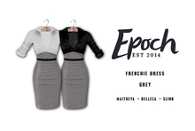 .EPOCH. frenchie dress. grey.