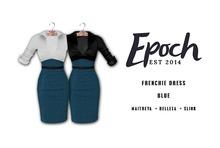 .EPOCH. frenchie dress. blue